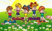 Дистанционное обучение - Веселая физкультура